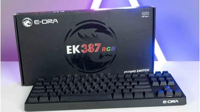 EK387 EK3104 version 2021 | Sự nâng cấp trở nên hoàn hảo hơn của bàn phím cơ E-Dra