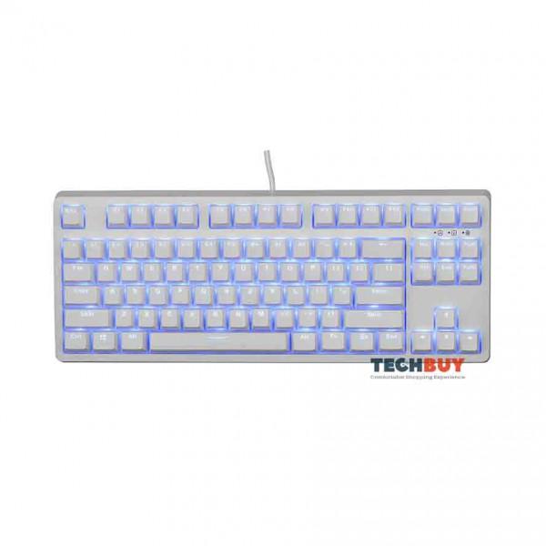 Bàn phím chơi game cơ E-DRA EK387 ICE WHITE