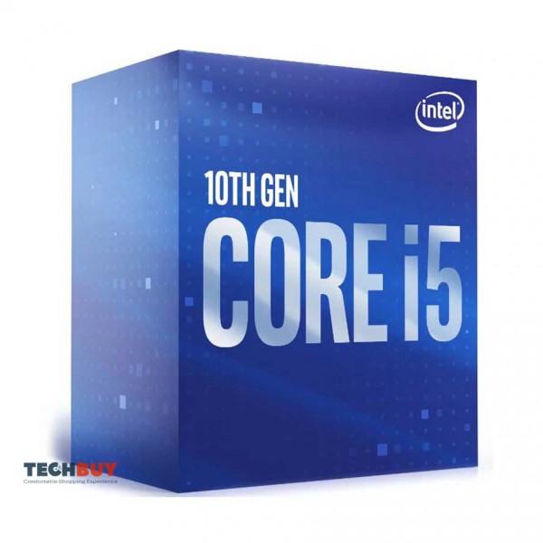 Bộ xử lí CPU Intel Core i5-10400F (2.9GHz turbo up to 4.3Ghz, 6 nhân 12 luồng, 12MB Cache, 65W, Non GPU) - Socket Intel LGA 1200