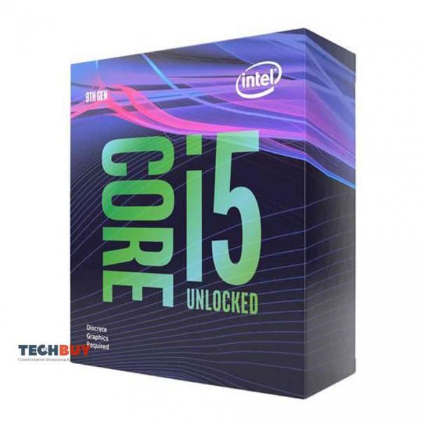 Bộ Xử Lí CPU Intel Core i5-9600KF (3.7GHz turbo up to 4.6GHz, 6 nhân 6 luồng, 9MB Cache, 95W, Non GPU) - 1151-v2