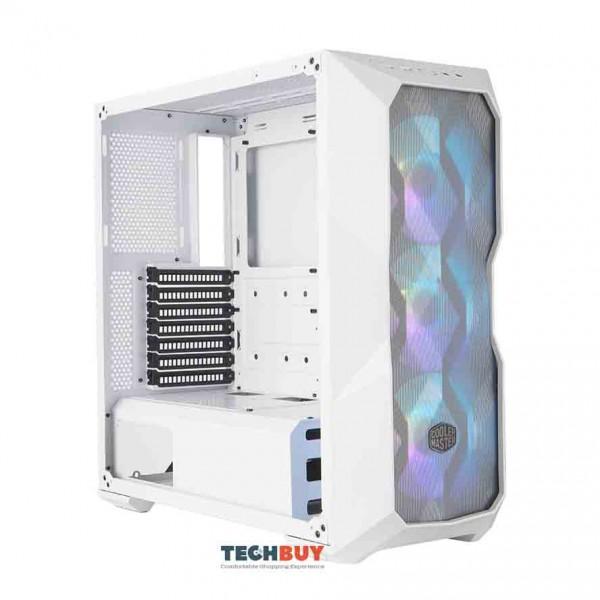 Vỏ Case Cooler Master MASTERBOX TD500 MESH WHITE ARGB