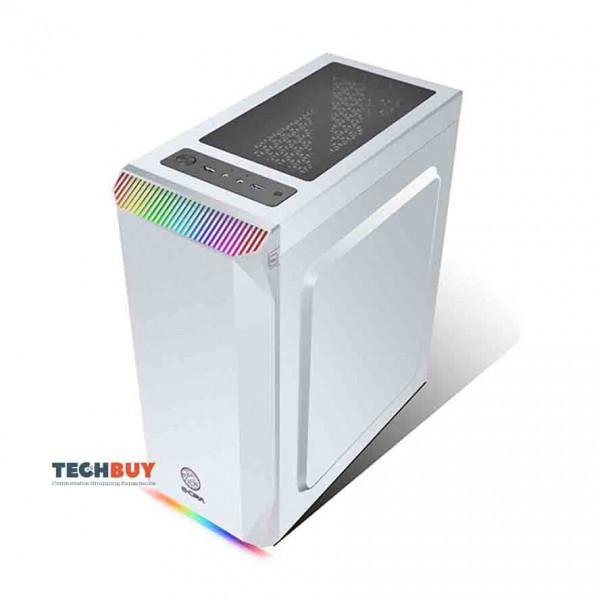 Case máy tính E-DRA Shadow Phoenix ECS1302 - Trắng
