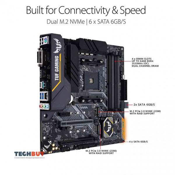Mainboard ASUS TUF B450M-Pro Gaming