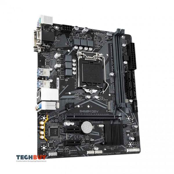 Mainboard Gigabyte B460M D2V (Socket LGA 1200, m-ATX, 2 khe RAM DDR4)