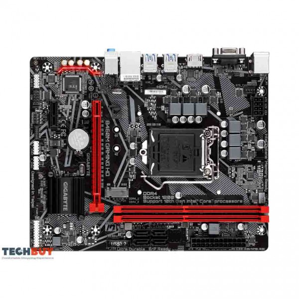 Mainboard Gigabyte B460M GAMING HD (Intel B460, Socket LGA1200, m-ATX, 2 khe RAM DDR4)