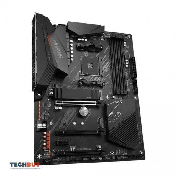 Mainboard Gigabyte B550 AORUS ELITE (Chipset AMD B550, Socket AM4, ATX, 4 khe RAM DDR4)