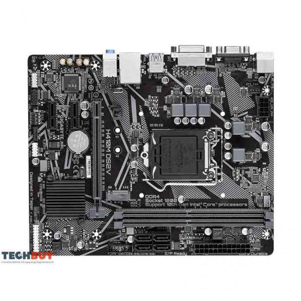 Mainboard Gigabyte H410M-DS2V (Intel H410, Socket LGA1200, m-ATX, 2 khe Ram DDR4)