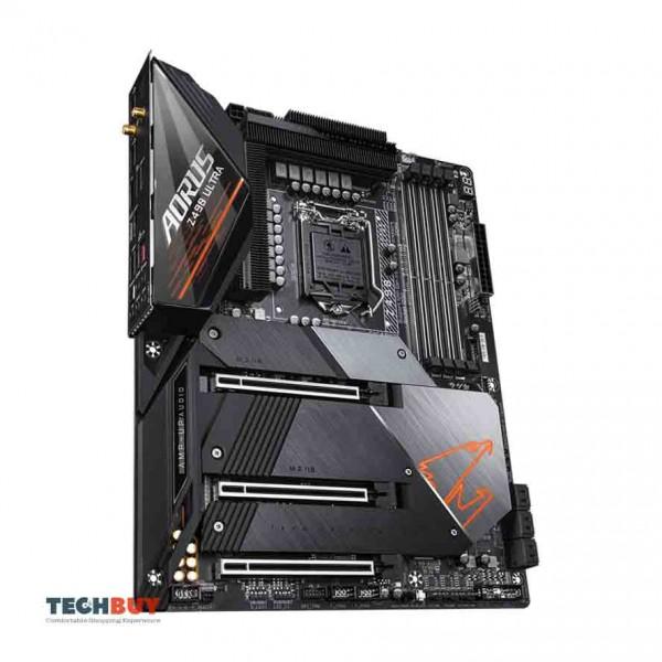 Mainboard Gigabyte Z490 AORUS ULTRA (Intel Z490, Socket LGA1200, ATX, 4 khe RAM DDR4)