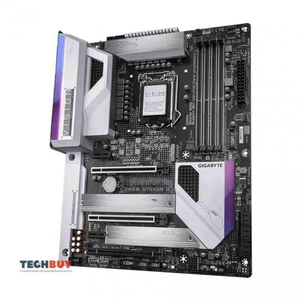 Mainboard GIGABYTE Z490 VISION G (Chipset Intel Z490, Socket LGA1200, ATX, 4 khe RAM DDR4)
