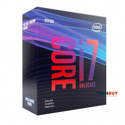 Bộ Xử Lí CPU Intel Core i7-9700KF (3.6GHz turbo up to 4.9GHz, 8 nhân 8 luồng, 12MB Cache, 95W, Non GPU) - Socket Intel LGA 1151-v2
