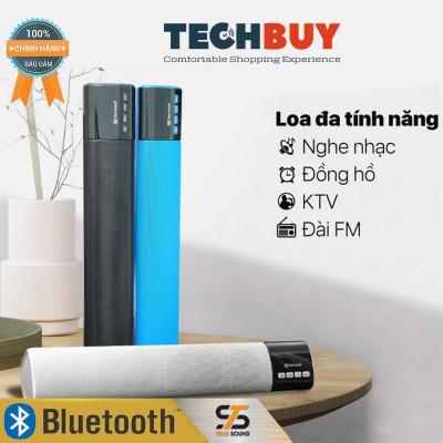 Loa BluetoothTrue Sound LED 668 kèm đồng hồ, FM, nghe nhạc thẻ nhớ, USB
