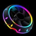 Fan tản nhiệt CPU E-DRA MASA ECC01 - LED RGB