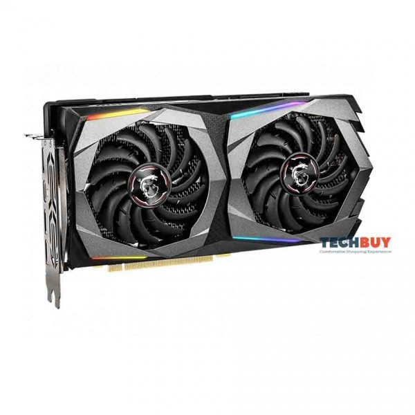 Card màn hình MSI RTX 2060 Super GAMING X (8GB GDDR6, 256-bit, HDMI+DP, 1x8-pin)