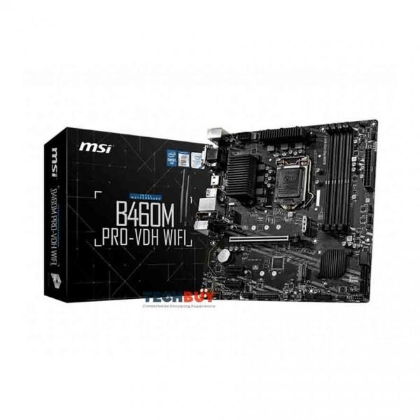 Mainboard MSI B460M PRO-VDH WIFI (Intel B460, Socket 1200, m-ATX, 4 khe RAM DDR4)