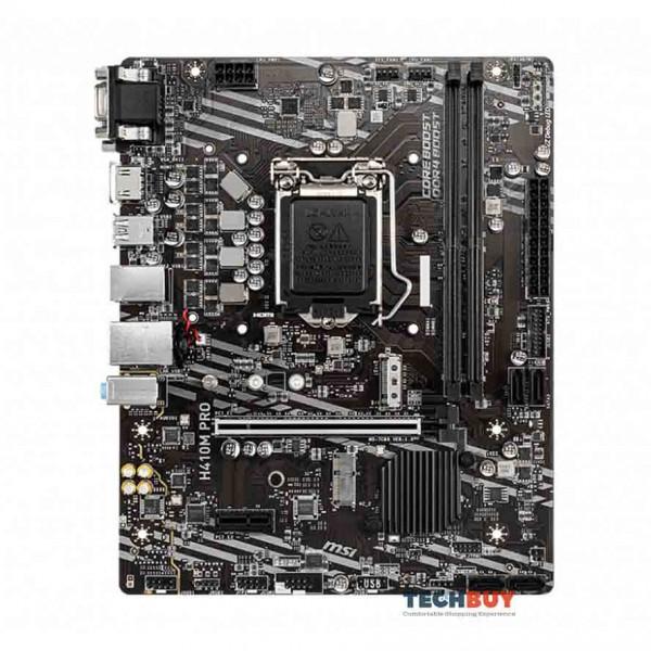 Mainboard MSI H410M PRO (Intel H410, Socket 1200, m-ATX, 2 khe RAM DDR4)