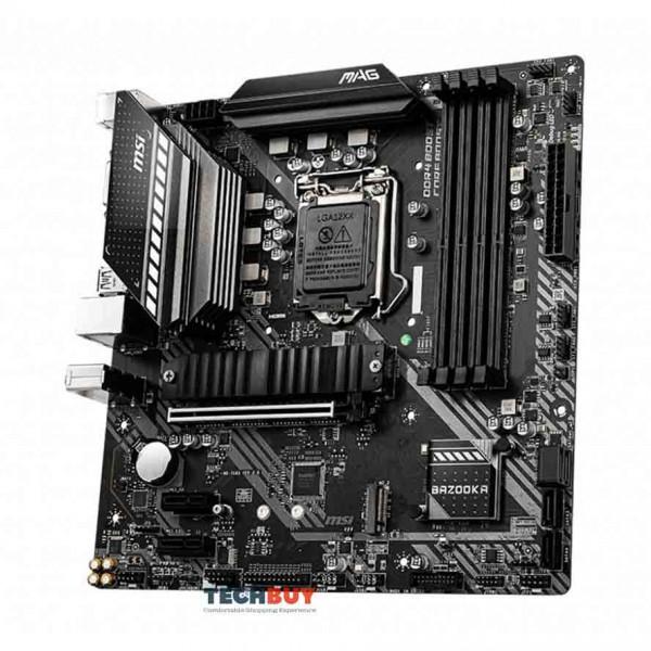 Mainboard MSI MAG B460M BAZOOKA (Intel B460, Socket 1200, m-ATX, 4 khe RAM DDR4)
