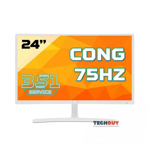 Màn hình ACER ED242QR (23.6 inchFHD75Hz250 cdm²VGA+HDMILEDVAmàu trắng)