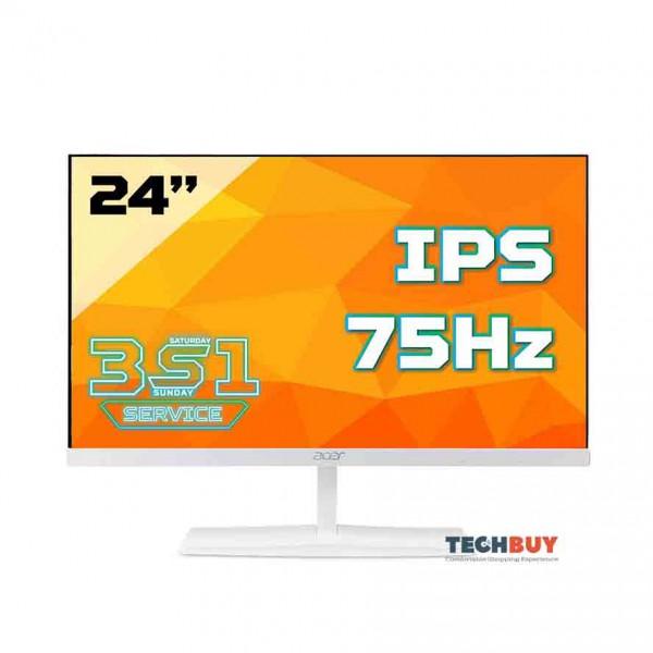 Màn hình Acer ED245QA (23.6 inchFHDIPS250 cdm²75Hz4msHDMI+VGAmàu trắng)