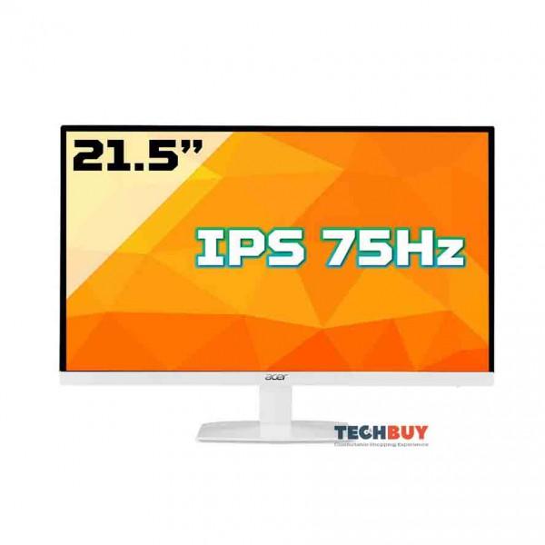 Màn hình Acer HA220QA (21.5 inchFHDHDMI+VGAIPS75Hz4msmàu trắng)