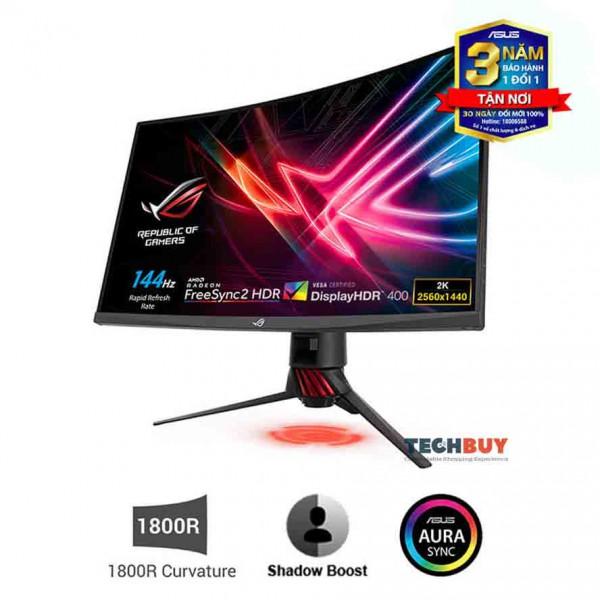 Màn hình Asus XG32VQR (31.5 inchWQHD144Hz4ms450cdm²DP+2HDMIFree SyncAura RGB)