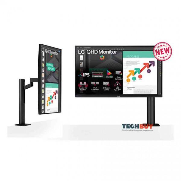 Màn hình LG 27QN880-B (27 inch2KIPS75Hz5ms350nitsHDMI+DP+TypeC)