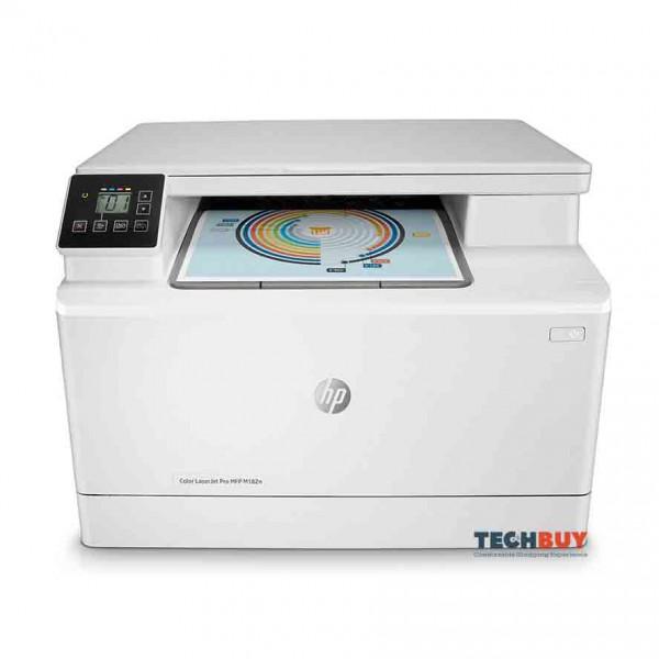 Máy in đa chức năng HP Color LaserJet Pro MFP M182n (7KW54A)