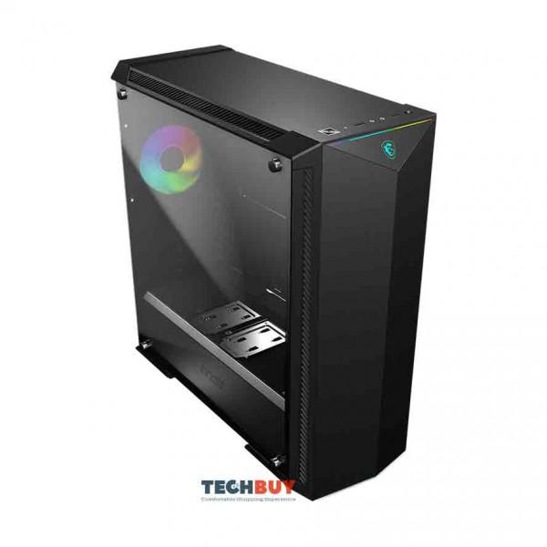 Vỏ Case MSI MPG GUNGNIR 100 RGB Tempered Glasses (Mid TowerMàu ĐenLed RGB)