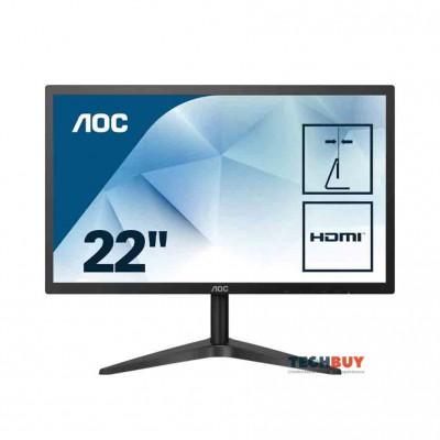 Màn hình AOC 22B1HS74 (21.5 inchFHDIPSVGA+HDMI250cdm²60Hz5ms)