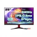 Màn Hình Acer VG252QX (25 inchFHDIPS240Hz0.5 ms400 nitsDP+HDMIG-Sync)
