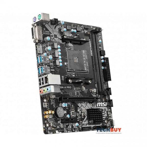 Mainboard MSI A320M-A PRO (AMD A320, Socket AM4, m-ATX, 2 khe RAM DDR4)