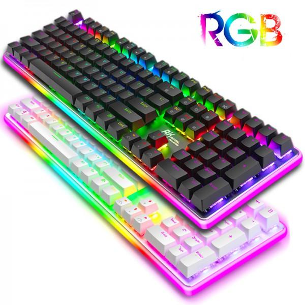 Bàn Phím Cơ Royal Kludge RK918 RGB ( LED RGB + LED Viền RGB )