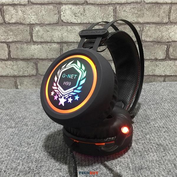 Tai nghe G-NET H99 Led nhiều màu