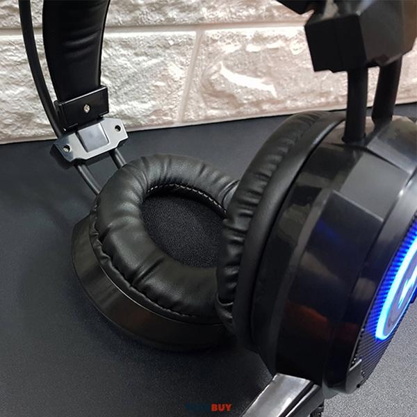 Tai Nghe Gaming Wangming WM8900 chân cắm tròn 3.5mm Màu Đen