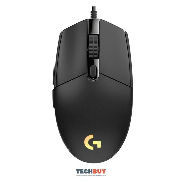 Chuột chơi game Logitech G102 Gen2 Black (USB/RGB/Đen)