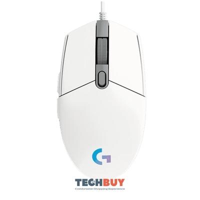 Chuột chơi game Logitech G102 Gen2 White (USB/RGB/Trắng)