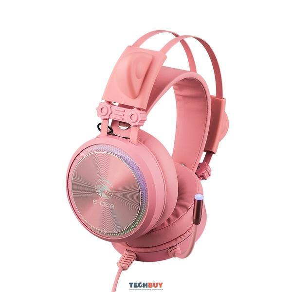 Tai nghe E-Dra EH412 PRO PINK Led RGB, USB