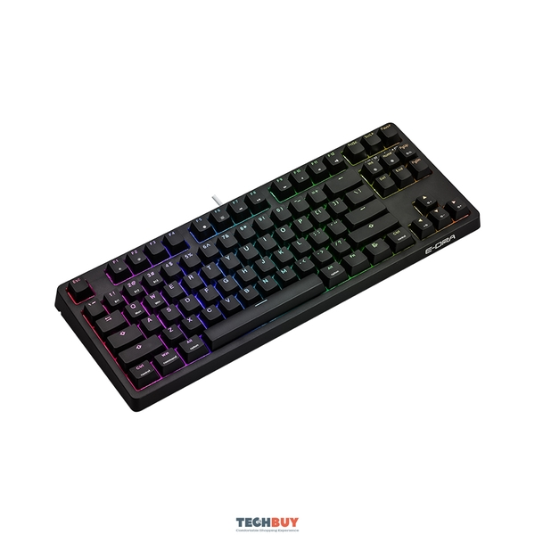 Bàn phím cơ E-DRA EK387W RGB, Bluetooth, Wireless, có dây, Gateron Red/White/Brown/Yellow Switch